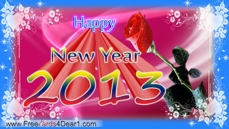 happy-new-year-greeting-ecard-with-rose-flower