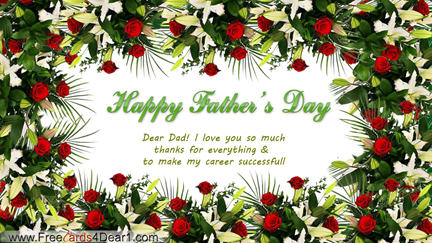 Beautiful Father\'s Day Greeting Card