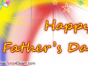 Multicolor Father's Day Greeting Card