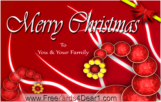 Index of wp contentgalleryfree merry christmas greetings ecards merry christmas to you and your familyg m4hsunfo