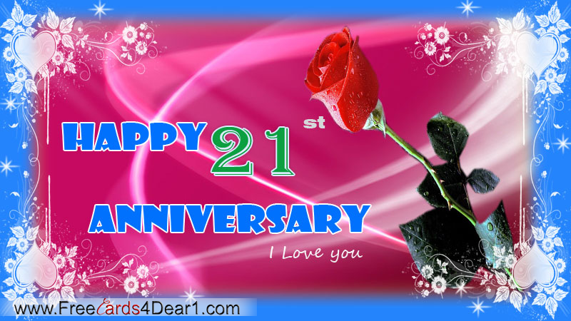 happy anniversary 21