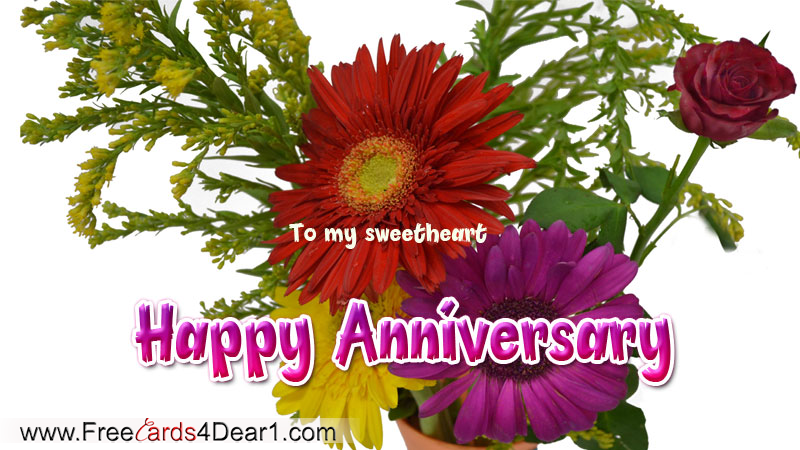 ... Happy Anniversary To My Sweet Heart.png ...