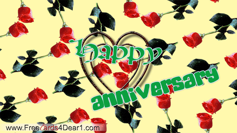 Latest Happy Anniversary Greetings