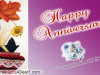 1st Happy Anniversary Greeting Cards