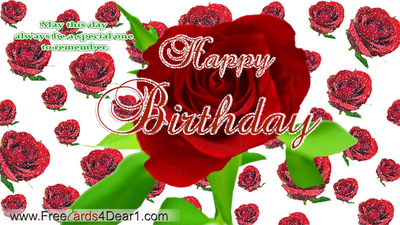 Index of wp contentgalleryhappy birthday greeting cards ecards birthday greeting card with rose flowersg m4hsunfo