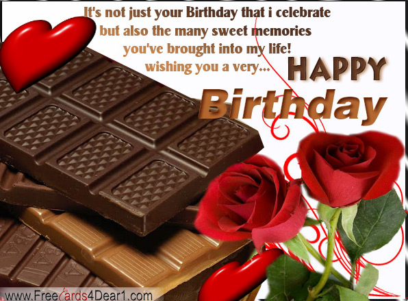 Index of wp contentgalleryhappy birthday greeting cards ecards birthday greeting card with roses and chocolateg m4hsunfo