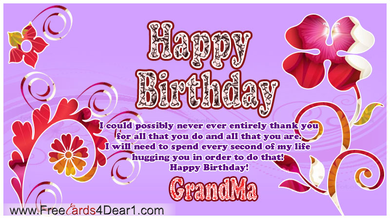 Index of wpcontentgalleryhappybirthdaygreetingcardsecards – Birthday Card for Grandma