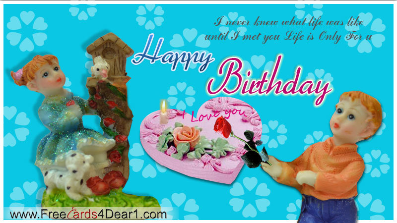 birthday greeting ecard for love  greeting cards, Birthday card