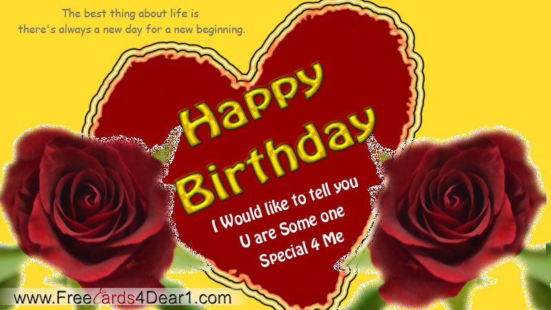 Birthday Greetings For Someone Special – Special Birthday Cards for Someone Special