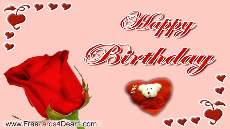 Birthday Greeting Ecard For Love – Birthday Cards Ecard