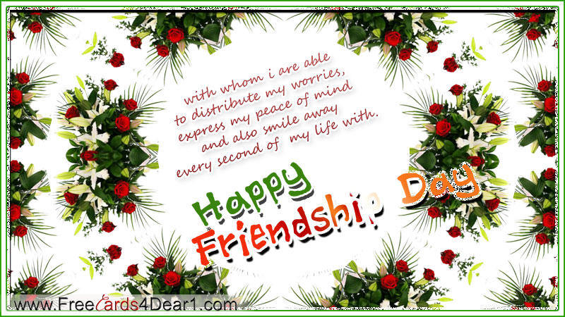 Index of wp contentgalleryhappy friendship day greeting cards ecard happy friendship day flower greeting cardg m4hsunfo