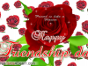 Friend Is Like A Flower Happy Friendship Day Card