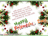 Happy Friendship Day Flower Greeting Card
