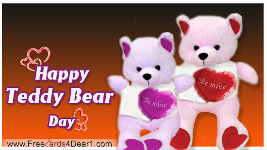 teddy day ecards
