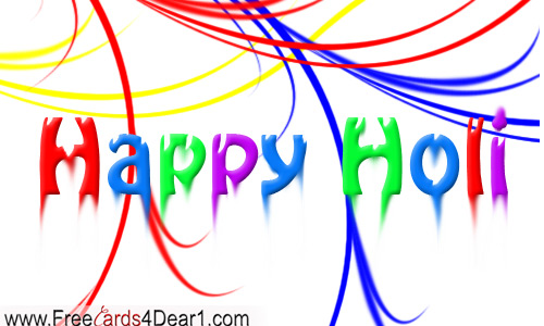 Happy Holi Ecard
