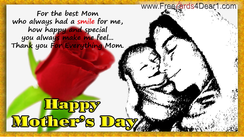 Ecard On Mother's Day